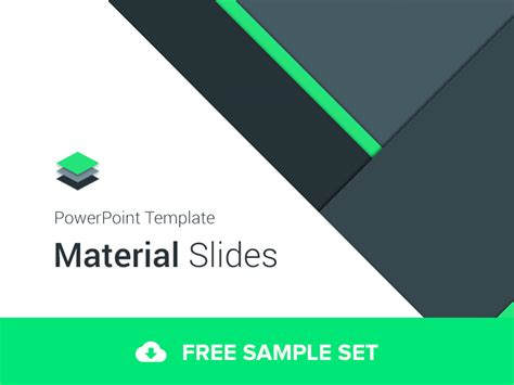 powerpoint design templates free 2007 material design powerpoint template by erg 252 n dribbble