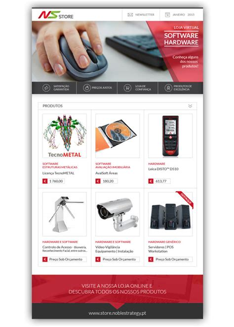 layout para newsletter newsletter ns store noble strategy