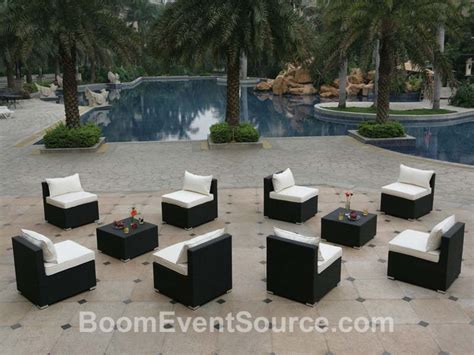 outdoor rental furniture outdoor furniture boom event source and event rental provide