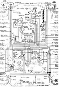 complete wiring diagrams of 1953 1957 ford anglia all