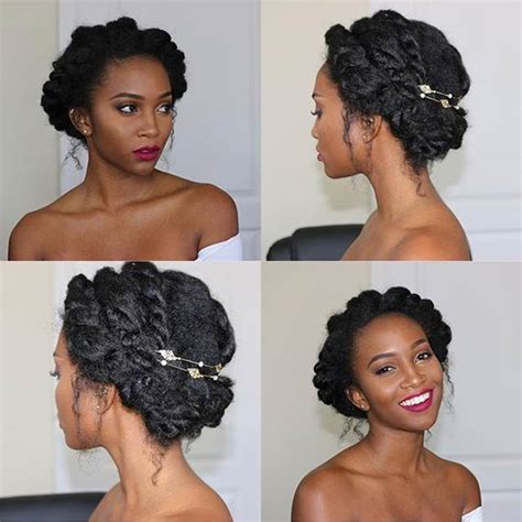 21 chic and easy updo hairstyles for natural hair page 2