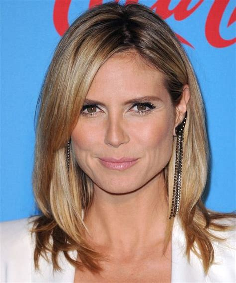 instructions for heidi klum haircut 10 best ideas about medium straight hairstyles on