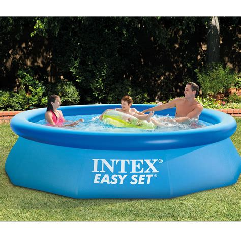 Intex Pool Set Spa intex 10 x 30 quot easy set above ground swimming
