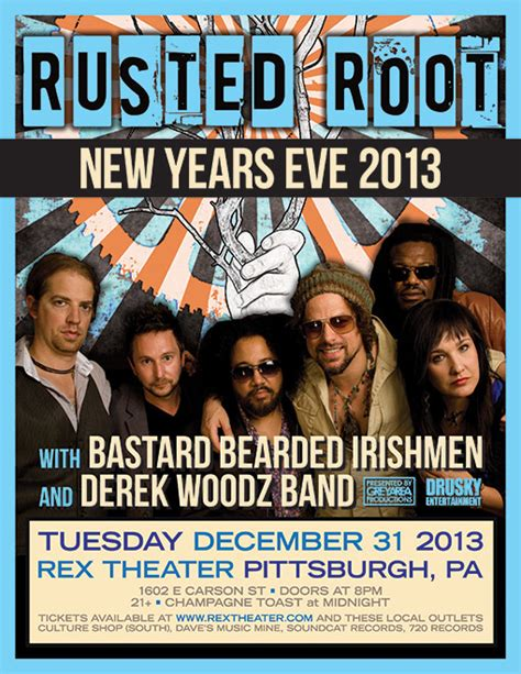 homecoming new year rusted root schedule homecoming new year s show