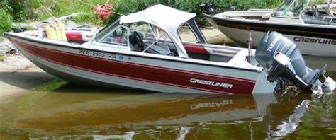 crestliner boats for sale on craigslist boats for sale 1988 17 foot crestliner mirage 160