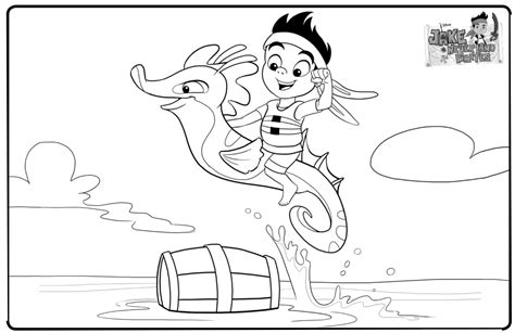 Free Jake And The Neverland Pirates Coloring Pages To Jake And The Neverland Coloring Pages To Print