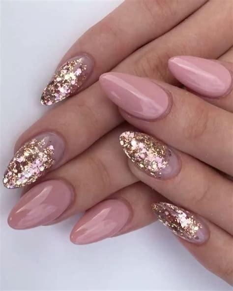 Naglar Design by 30 Glittery Nail Designs Naglar Sk 246 Nhet Och Makeup