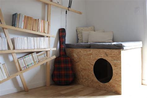 Faire un meuble pour cacher la litière de son chat