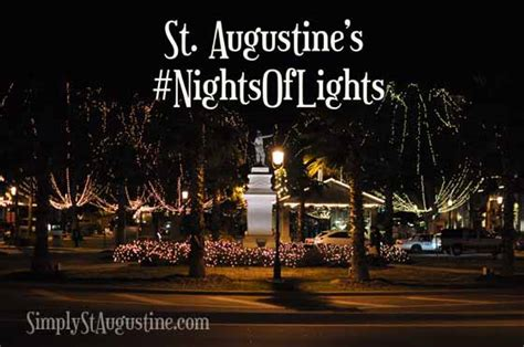 Festival Of Lights St Augustine by St Augustine Nights Of Lights 2017 Roundup Best