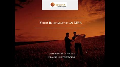 Roadmap To Mba by Your Roadmap To An Mba Top Tips From Caroline Diarte