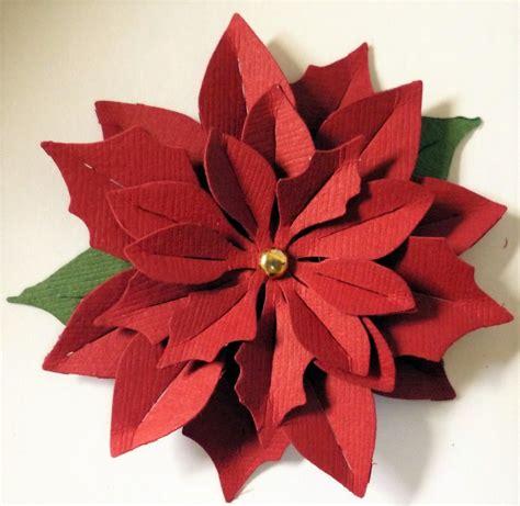 Como Hacer Flores De Papel Para Navidad | 191 c 243 mo hacer flores de navidad de papel