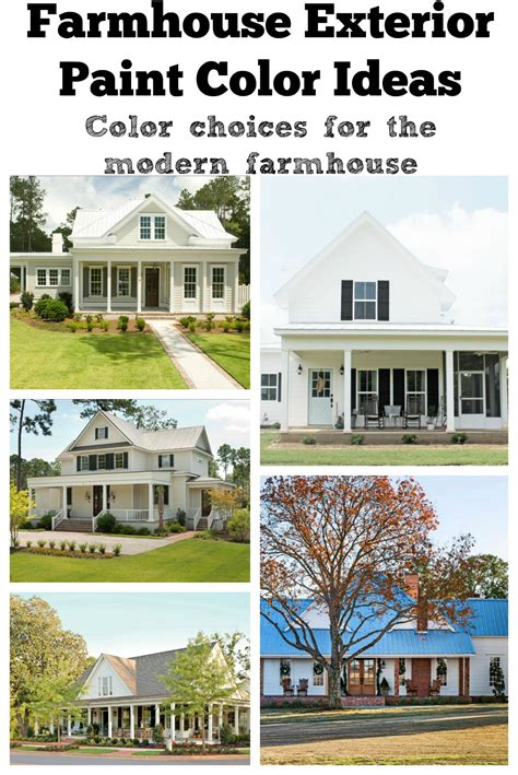exterior paint color ideas farmhouse exterior paint color ideas