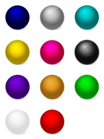 color balls color 11 free icons icon search engine