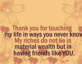 Thank You Letter Friend Quotes Thank You Quotes For Friends 104likes Com