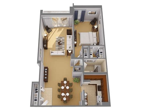 large 1 bedroom apartment floor plans one bedroom apts in chevy chase md highland house