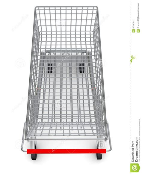 best shopping carts top view of shopping cart for purchase stock image image