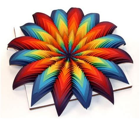 Colored Craft Paper - beautiful crafts from colored paper 19 pics curious