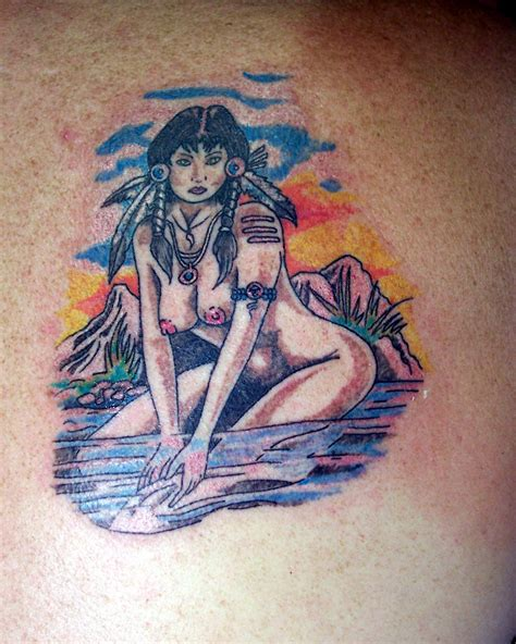 native american cross tattoos american picture