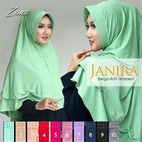 Jilbab Instan Murah Zerina Bergo Simpel Murah Wanita Kh Berkualitas 1 jilbab instan bergo janira antem panjang harga murah