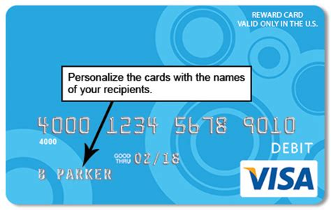 Personalized Gift Cards Visa - reloadable personalized visa gift cards lamoureph blog