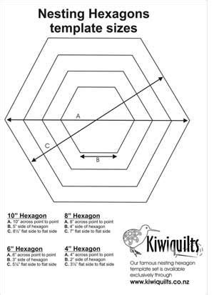 Patchwork Hexagon Templates Free - 1000 images about hexagonos on grandmothers