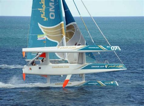 speed boats for sale lanzarote so trimarans do get out of the water that is thrilling