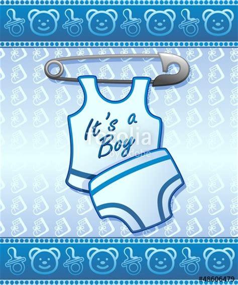 clipart nascita bambino quot baby shower it s a boy annuncio nascita maschio bambino