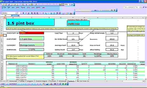 excel spreadsheet for inventory management laobingkaisuo com