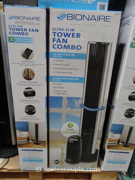 bionaire window fan costco bionaire tower fan combo
