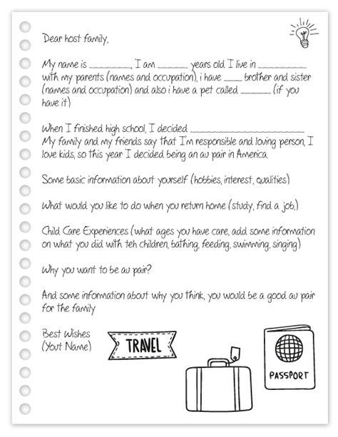 carta de recomendacion en ingles au pair una venezolana de au pair carta de una aupair a la familia