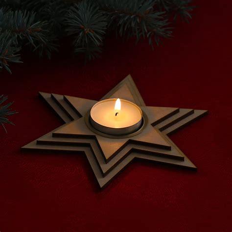kerzenhalter weihnachten kerzenhalter tannenbaum holz bvrao