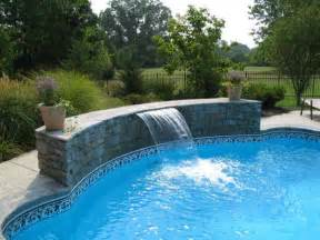 swimming pool designs with waterfalls design ideas for house
