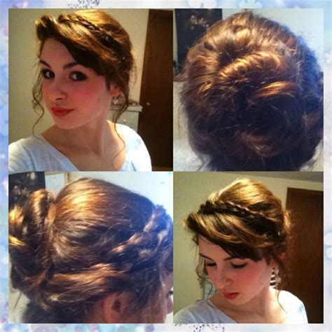 freeze braids hairstyles anna s hair from frozen 1 part your hair in half then on