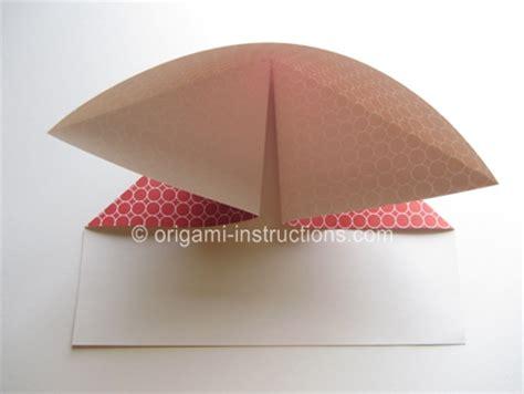 Origami Basketball - easy origami basketball hoop folding