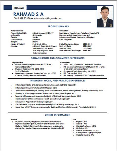bagaimana membuat resume yang baik contoh cv bahasa inggris teknik industri contoh sur