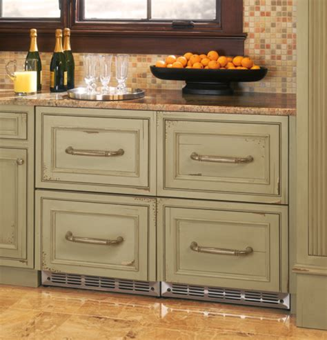 ge monogram refrigerator drawers zidi240bii ge monogram 174 double drawer refrigerator