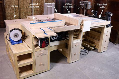 how to build a table saw workstation how to build a table saw workstation we guide you through