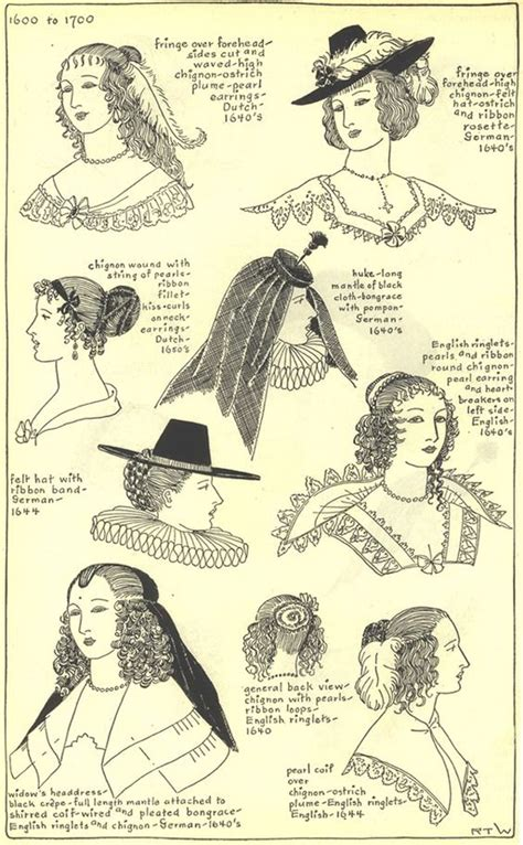 17th century hairstyles 17th century hats and hairstyles photo 17thcenturyhats10