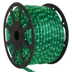 rope light 150 green chasing rope light commercial