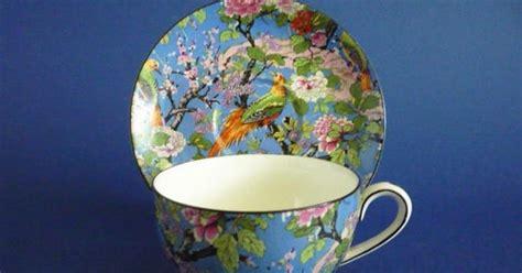 Crown Ducal Vase Premier Antiques Crown Ducal Blue Chintz