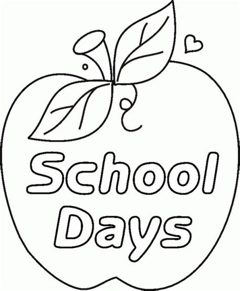coloring page at school get this printable school coloring pages dqfk23