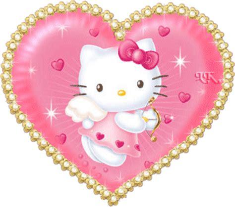 imagenes kitty corazones imagenes de hello kitty con movimiento