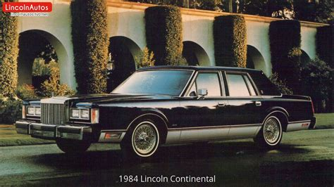how it works cars 1984 lincoln continental parental controls 1984 lincoln continental youtube