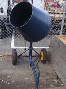 Mixer Cmx 07 gmc cmx type 2 cement mixer 240volt 450watt motor 60