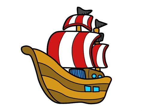 barco español dibujo dibujos de carabelas para colorear dibujos net
