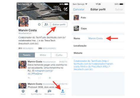 como mudar layout do iphone como mudar o nome de usu 225 rio do twitter pelo celular