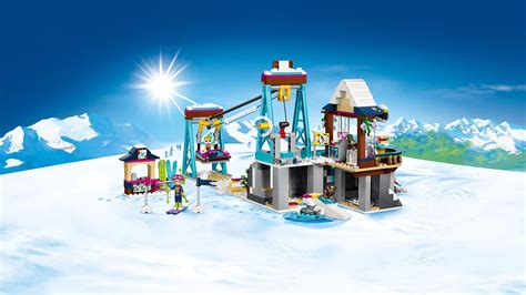 41324 Snow Resort Ski Lift   Products   LEGO® Friends