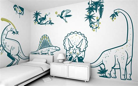 Large Jungle Wall Stickers stickers enfants stickers dino pour chambre gar 231 on e