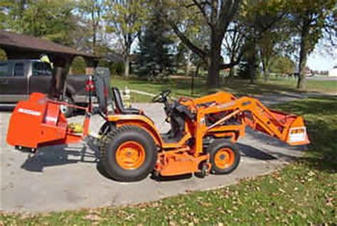 Used Farm Tractors For Sale Kubota Compact B7510hst 2008