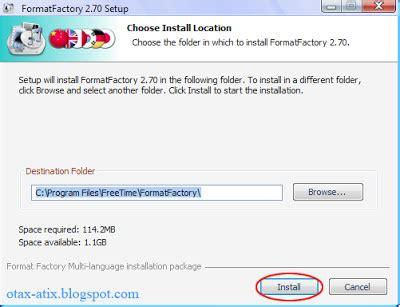 cara menggunakan format factory apk cara instal menggunakan format factory